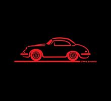 Porsche 356 Coupe by Frank Schuster