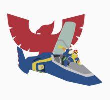 Super Smash Bro Captain Falcon Kids Clothes