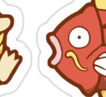 Pokémon / Psyduck and Magikarp Sticker
