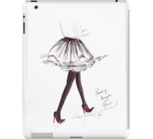 Strolling Through Paris iPad Case/Skin