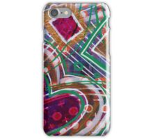 Movement from the Heart Space: Inner Power Paintings iPhone Case/Skin