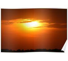 Hellfire Sunset Poster