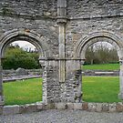 Arch way at Mellifont Abbey #2 by Finbarr Reilly