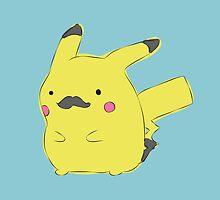 Cute little Pikachu! by NAAY