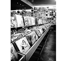 The Record Shop Photographic Print