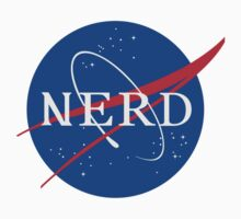 NASA Nerd Kids Clothes