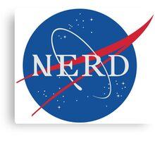 NASA Nerd Canvas Print