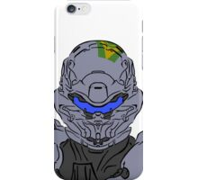 Spartan Locke Headshot Celtic Colored iPhone Case/Skin