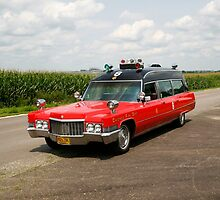 1970 Cadillac Miller Meteor Ambulance by dugzphotoz