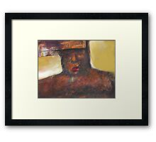 Portrait Figuration Framed Print