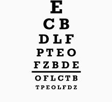 Eye chart test Unisex T-Shirt