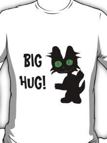 Kitty Gives Big Hugs T-Shirt