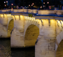 Pont Neuf Bridge - Paris, France Sticker