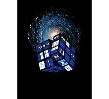 TARDIS CUBE Photographic Print