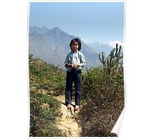 Young girl in Tam Duong area of North West Vietnam Poster