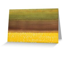 Harvest original painting Greeting Card