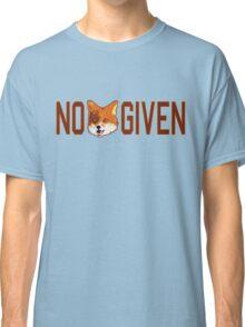 Funny - No Fox Given Classic T-Shirt