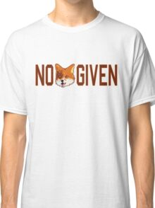 Funny - No Fox Given Classic T-Shirt