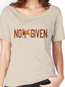 Funny - No Fox Given Women's Relaxed Fit T-Shirt