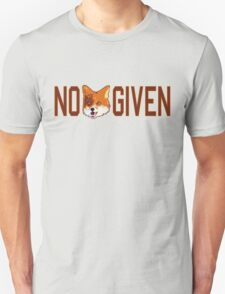 Funny - No Fox Given Unisex T-Shirt