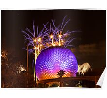 Epcot IllumiNations Poster
