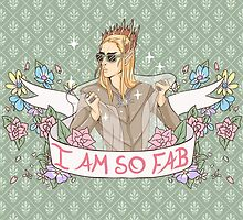 """I am so Fab"" Thranduil by Tea Skull"