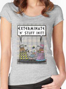 Chav Daleks Women's Fitted Scoop T-Shirt