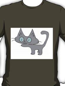 Petite Gray Kitten T-Shirt