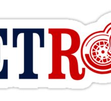 Detroit Sports Sticker