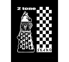 Two Tone Dalek Photographic Print