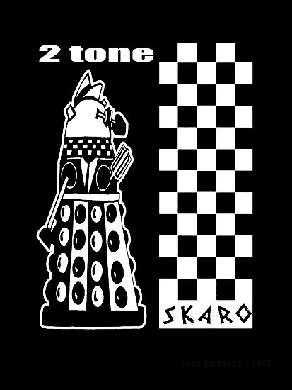 Two Tone Dalek by ToneCartoons