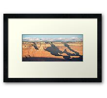 Splash of Orange – Grand Canyon National Park, Arizona Framed Print