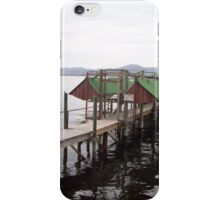 Sandy Bay Jetty and Boatsheds iPhone Case/Skin