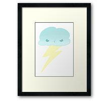 Angry Cloud Framed Print