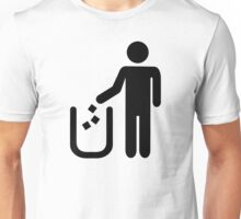 Litter waste garbage Unisex T-Shirt