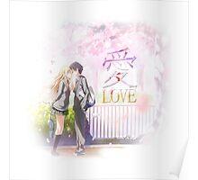 Shigatsu wa Kimi no Uso / Love 愛 Poster