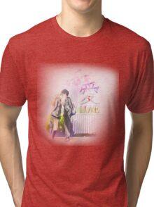 Shigatsu wa Kimi no Uso / Love 愛 Tri-blend T-Shirt