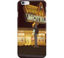 Cozy Cone Motel iPhone Case/Skin