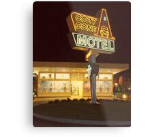Cozy Cone Motel Metal Print