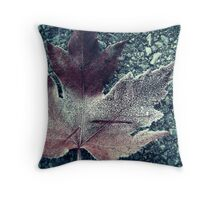 Autumn Walk Throw Pillow