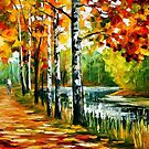 Endless Summer — Buy Now Link - www.etsy.com/listing/126093734 by Leonid  Afremov