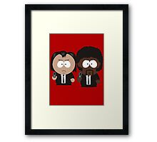 South Park Pulp Fiction Framed Print