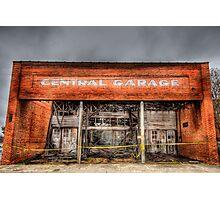 Central Garage Photographic Print