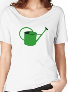 Green watering can Women's Relaxed Fit T-Shirt