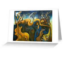 Cellist dream Greeting Card