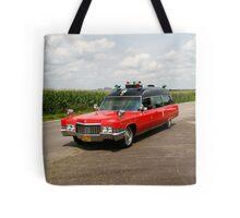 1970 Cadillac Miller Meteor Ambulance Tote Bag