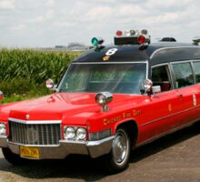 1970 Cadillac Miller Meteor Ambulance Sticker