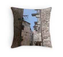 Cobbled Streets  Throw Pillow