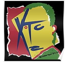 XTC Drums and Wires Poster