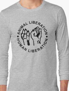 Animal Liberation Human Liberation Long Sleeve T-Shirt